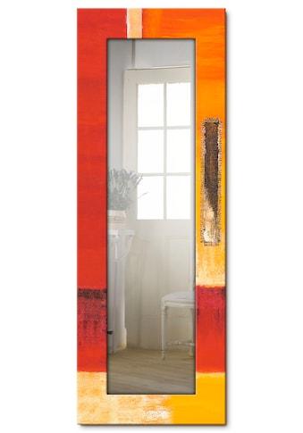 Artland Wandspiegel »Felder I - Abstrakt«, gerahmter Ganzkörperspiegel mit... kaufen