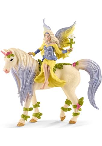 Schleich® Spielfigur »bayala, Sera mit Blüten-Einhorn (70565)« kaufen