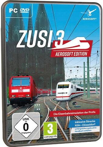 Zusi 3 Aerosoft Edition + Strecke Köln - Düsseldorf PC kaufen