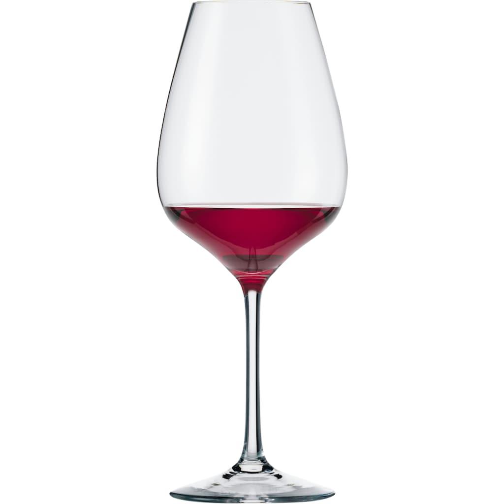 Eisch Rotweinglas »Superior SensisPlus«, (Set, 4 tlg.), (Syrahglas), bleifrei, 600 ml, 4-teilig