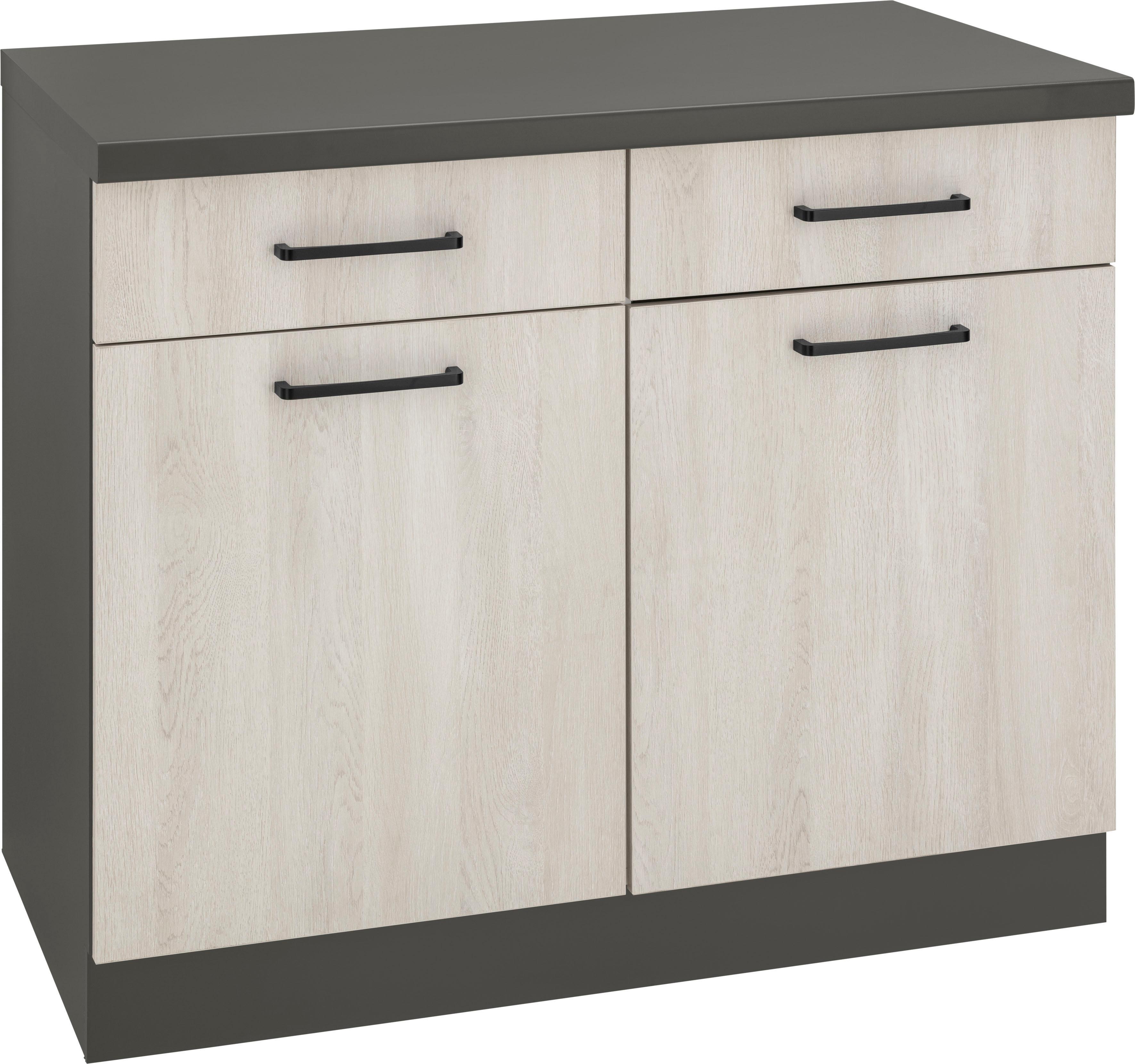WIHO Küchen Unterschrank »Esbo«, Breite 100 cm