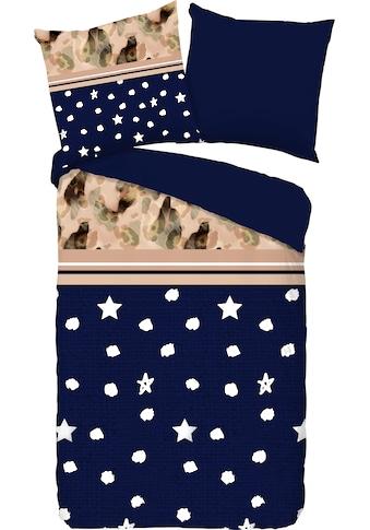 PURE luxury collection Wendebettwäsche »Kiki«, mit Sternen kaufen