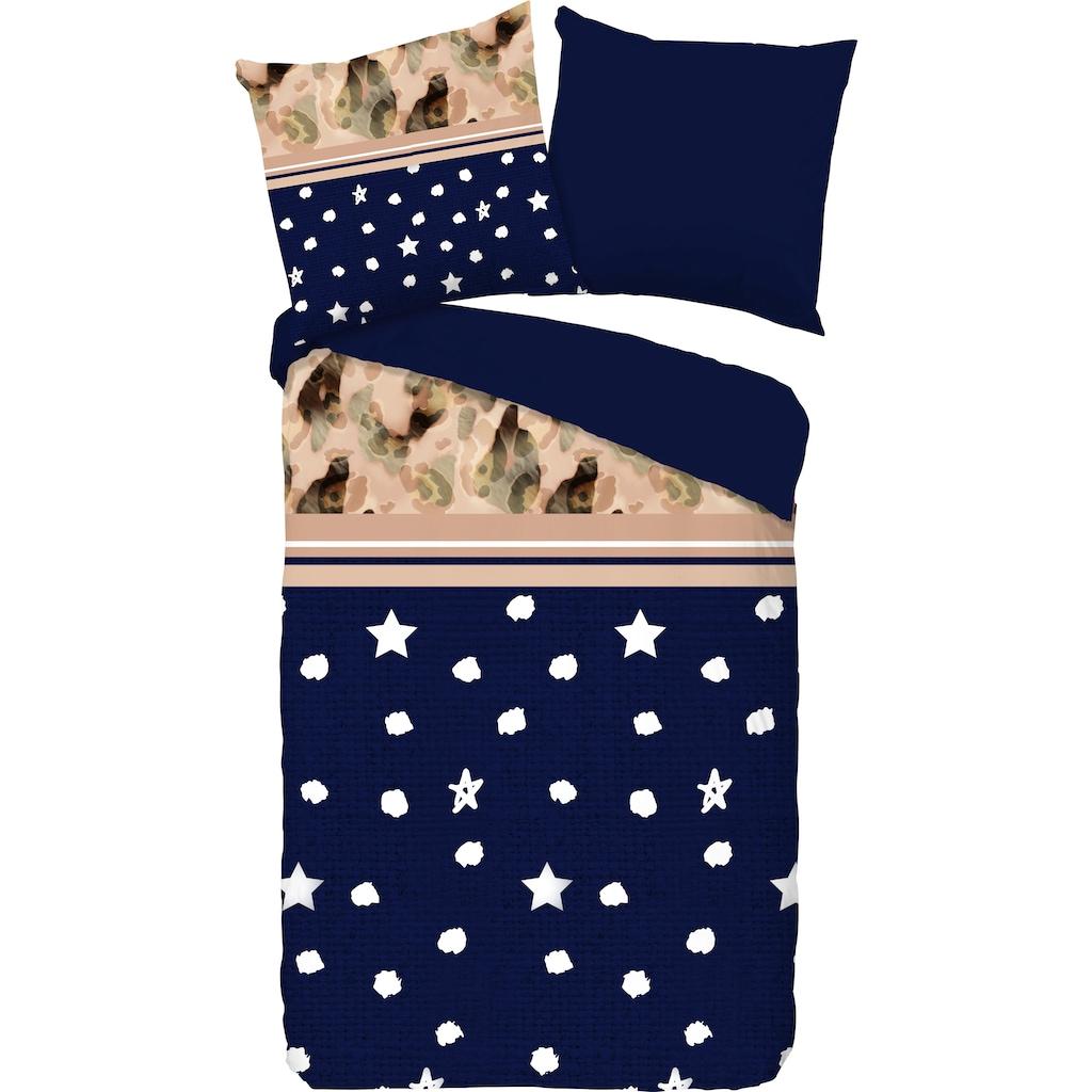 PURE luxury collection Wendebettwäsche »Kiki«, mit Sternen