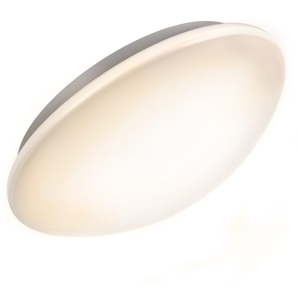 B.K.Licht LED Deckenleuchte »Polaris«, LED-Board, Neutralweiß, LED Deckenlampe Badezimmerleuchte Bewegungsmelder Sensor Glas 1200 Lumen 4.000K IP44