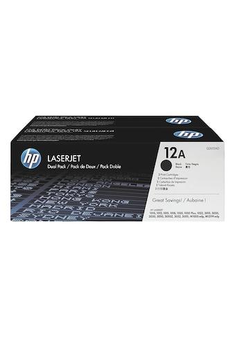 HP Doppelpack Druckkassetten 12A »HP Q2612AD« kaufen