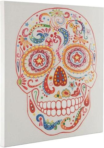 Kayoom Ölbild »Totenkopf« kaufen