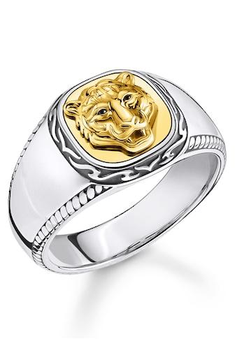 THOMAS SABO Fingerring »Tiger gold, TR2293-849-39-52, 54, 56, 58, 60, 62, 64, 66, 68«, mit Zirkonia kaufen