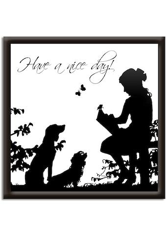 Artland Wandbild »Hab einen schönen Tag« kaufen