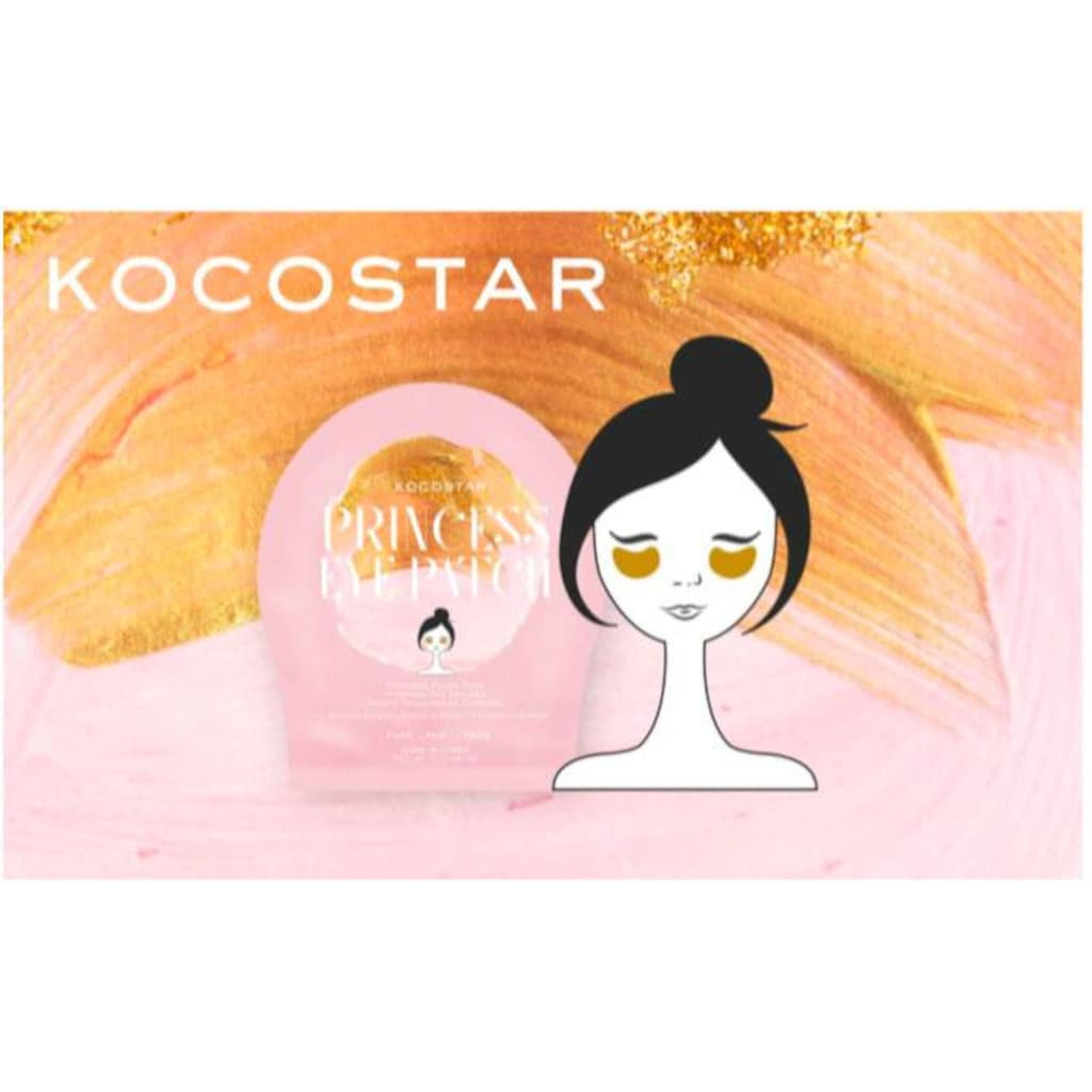 KOCOSTAR Augenmaske »Princess Eye Patch«, (Set, 3 tlg.)
