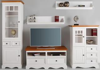 home affaire wohnwand melissa set 5 tlg auf rechnung. Black Bedroom Furniture Sets. Home Design Ideas