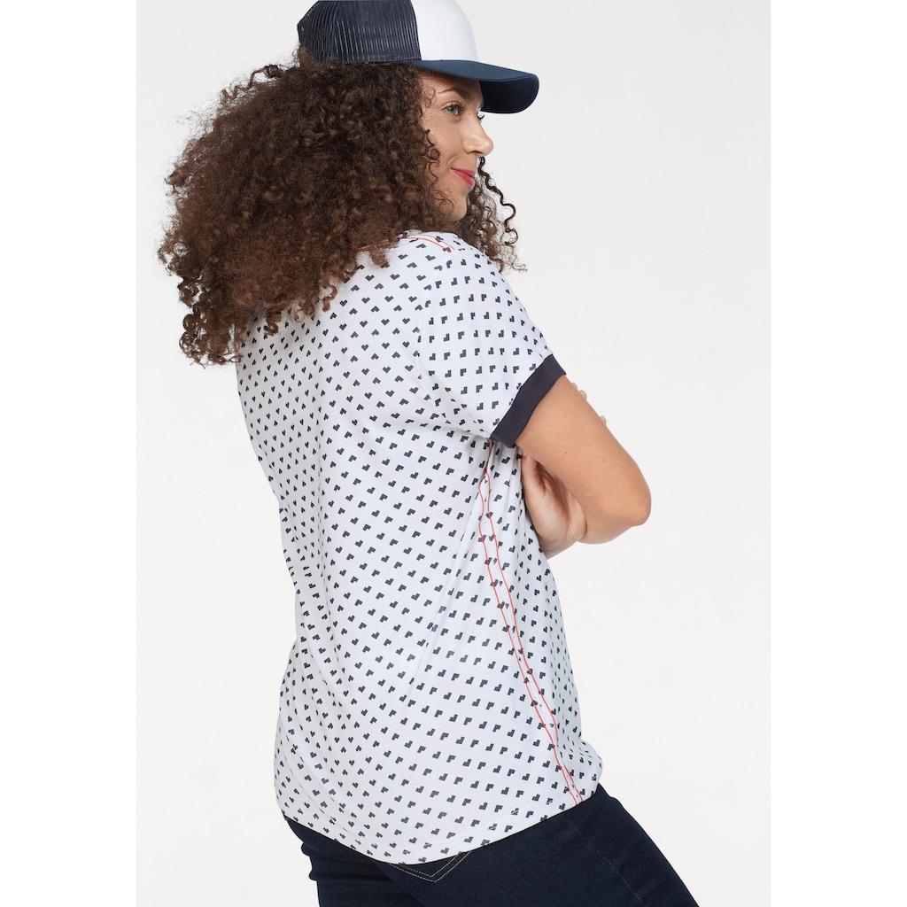 KangaROOS T-Shirt, im sportlichen Allover-Print