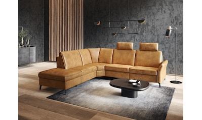 himolla Ecksofa »1920«, ein oder zwei integrierte Relaxsitze, Relax-Funktions-Ecke,... kaufen