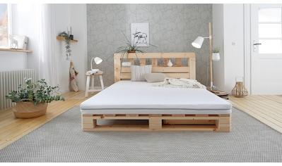 Älgdröm Komfortschaummatratze »Fjord«, (1 St.), Damit du erholt und ausgeschlafen erwachst kaufen