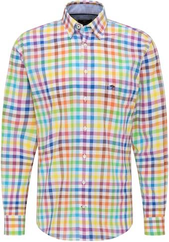 FYNCH-HATTON Langarmhemd, mit kleiner Logostickerei kaufen
