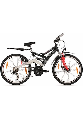 KS Cycling Jugendfahrrad »4 Masters«, 21 Gang Shimano Tourney RD - TX 31 Schaltwerk, Kettenschaltung kaufen