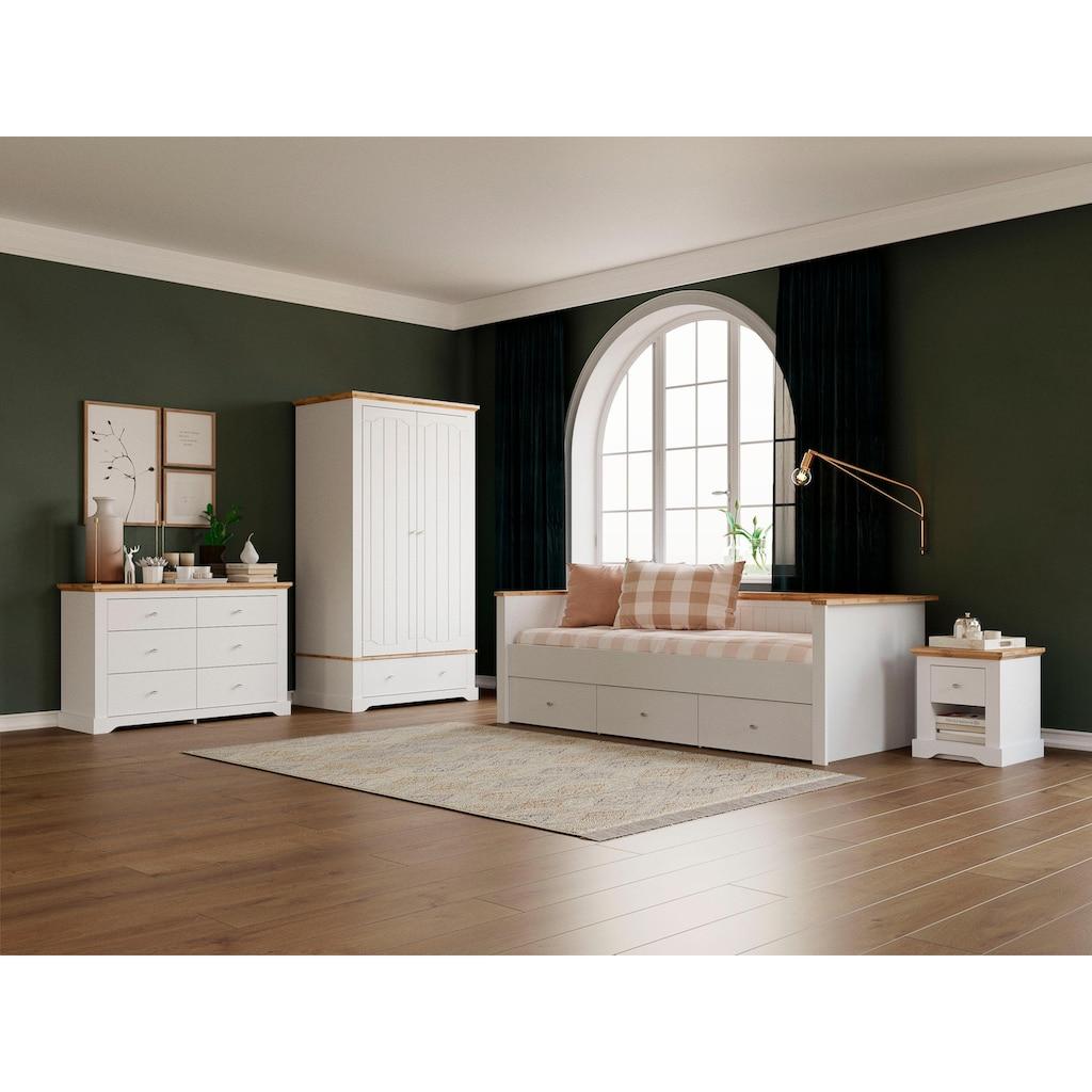 Home affaire Kommode »Teverton«, mit 6 Schubladen