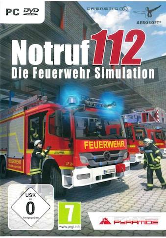 aerosoft Spiel »Notruf 112 - Die Feuerwehr Simulation«, PC kaufen