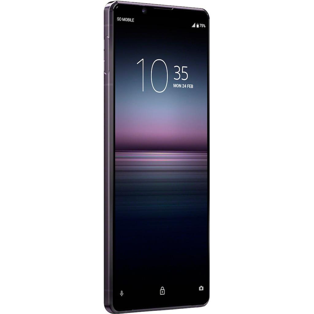 """Sony Smartphone »Xperia 1 II«, (16,5 cm/6,5 """", 256 GB Speicherplatz, 12 MP Kamera), SIM Free"""