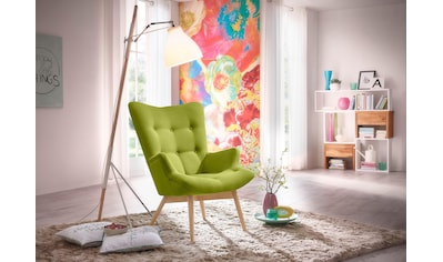 Max Winzer® Sessel »Arne«, in Schalenform, im Retrolook, Hochlehner kaufen
