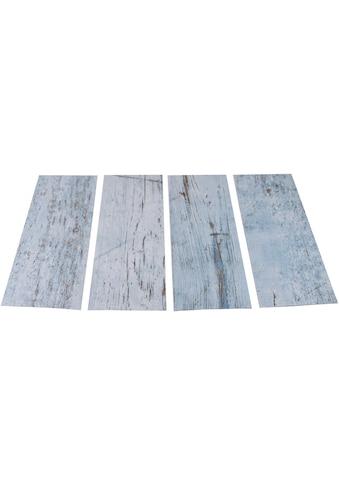 MySpotti Duscheinlage »Klebefliese stepon Wood Light Blue«, antirutsch kaufen