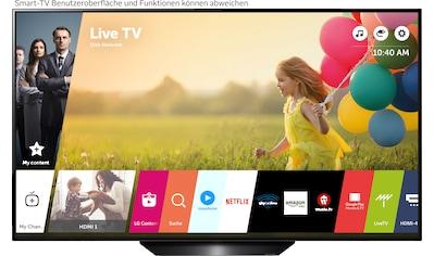 LG OLED65BX9LB OLED - Fernseher (164 cm / (65 Zoll), 4K Ultra HD, Smart - TV kaufen