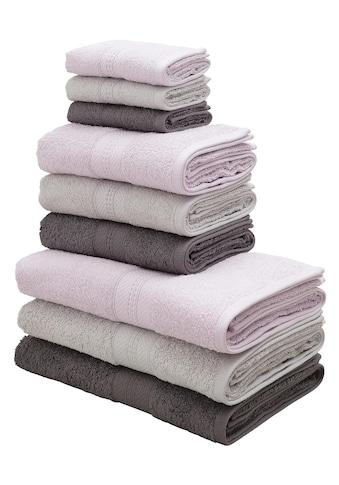 andas Handtuch Set »Astrid«, im harmonischen Farbmix kaufen