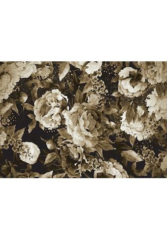 Consalnet Vliestapete »Muster / grüne Blumen«, floral kaufen