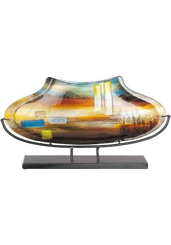 GILDE GLAS art Dekovase »Campo«, aus Glas, Höhe ca. 29 cm kaufen