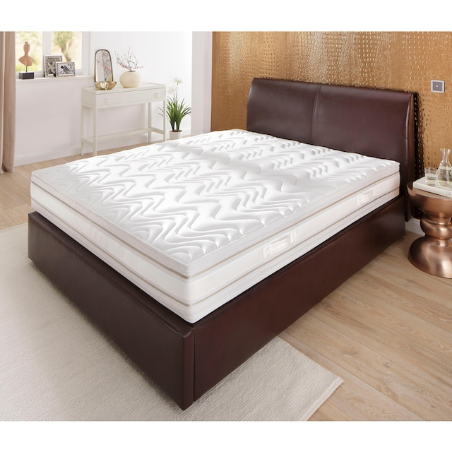 Schlaf-Gut Kaltschaummatratze »Medisan DeLuxe KS«, 24 cm cm hoch, Raumgewicht: 35 kg/m³, (1 St.), Natürlicher Schutz gegen Milben dank Proneem-Ausrüstung