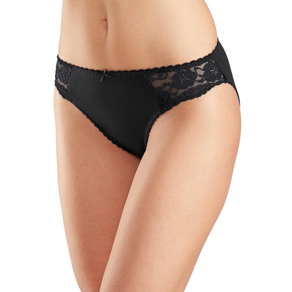 petite fleur Jazz-Pants Slips, (6 St.), mit floraler Spitze seitlich