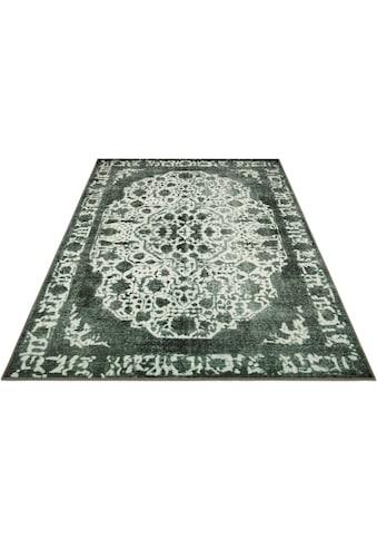 DELAVITA Teppich »Basima«, rechteckig, 6 mm Höhe, Orient-Optik, Vintage Design,... kaufen
