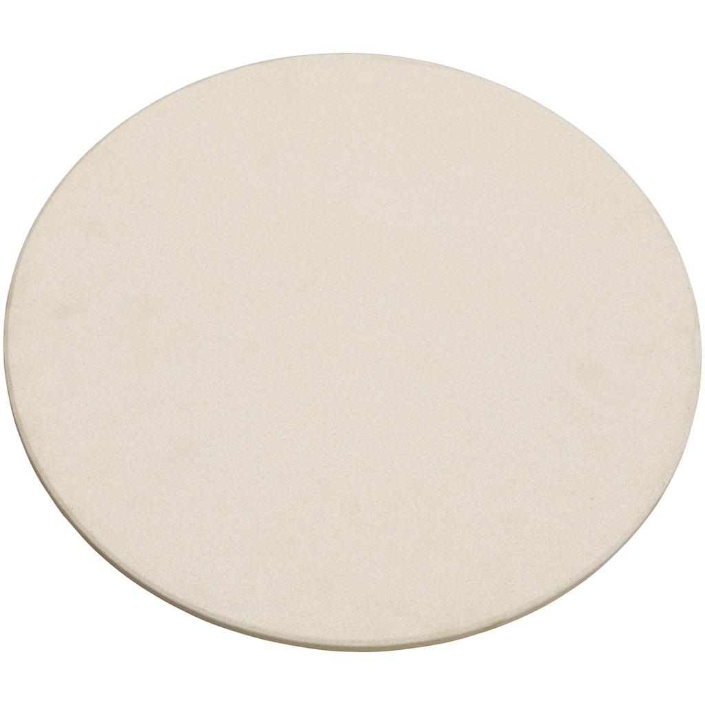 JUSTUS Backstein, Keramik, Pizzastein, passend für Black J'Egg XL