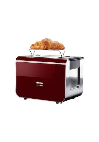 SIEMENS Toaster »Sensor for Senses TT86104«, für 2 Scheiben, 860 Watt kaufen