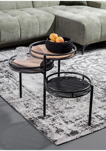 Gutmann Factory Beistelltisch »Firestone«, mit drei Tischplatten kaufen