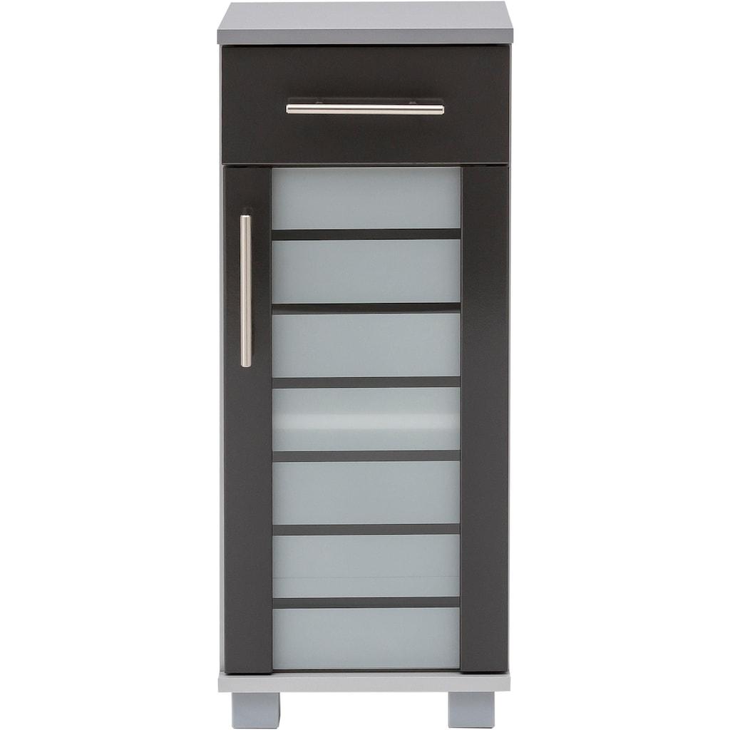 Schildmeyer Unterschrank »Nikosia«, Breite 30 cm, mit Glastür, 1 Schublade, hochwertige MDF-Fronten, Metallgriffe