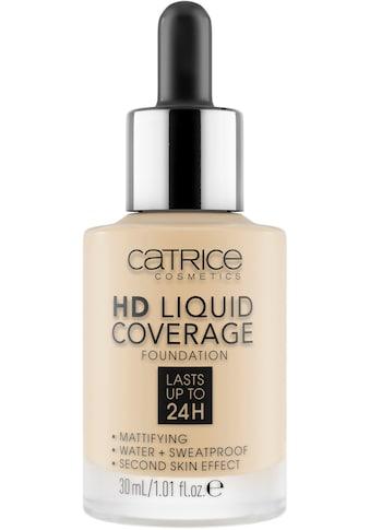 Catrice Foundation »HD Liquid Coverage Foundation« kaufen