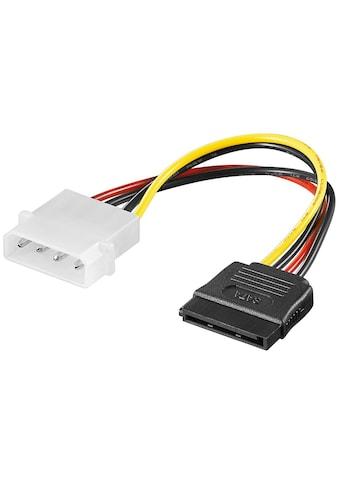 Goobay PC Y Stromkabel/Stromadapter; »5.25 Stecker zu SATA« kaufen