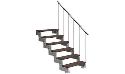 DOLLE Außentreppe »Gardentop«, für Geschosshöhen bis 132 cm, TRIMAX® - Stufen 80 cm kaufen