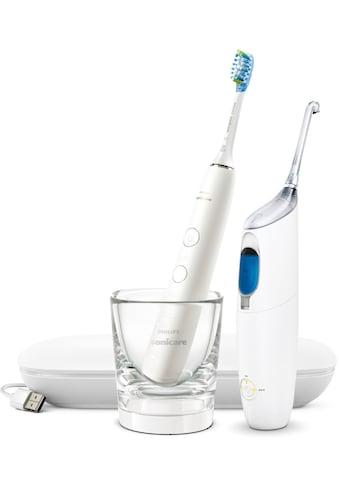 Philips Sonicare Zahnpflege-Set »HX8494«, Bonuspack, Munddusche AirFloss Pro/Ultra und... kaufen