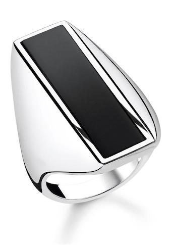 THOMAS SABO Silberring »Onxy, TR2220 - 024 - 11 - 48, 50, 52, 54, 56, 58, 60« kaufen