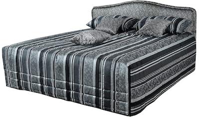 Westfalia Schlafkomfort Polsterbett, wahlweise mit Tagesdecke und Bettkasten kaufen
