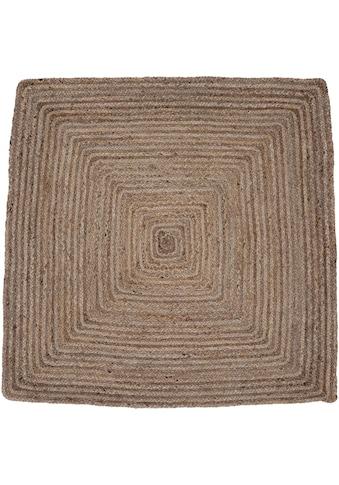 carpetfine Teppich »Nele«, rechteckig, 6 mm Höhe, Wendeteppich 100% Jute, Wohnzimmer kaufen
