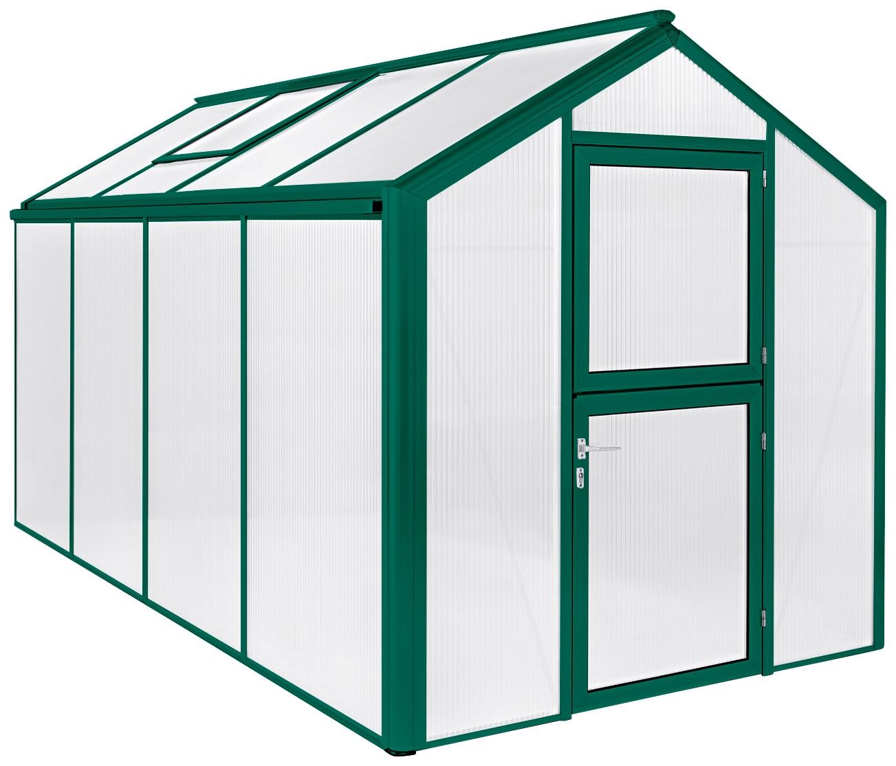 BECKMANN Gewächshaus »Allplanta U3«, BxT: 215x408 cm, grün   Garten > Gewächshäuser   Grün   BECKMANN
