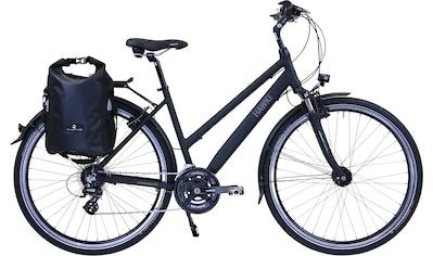 HAWK Bikes Trekkingrad »HAWK Trekking Lady Premium Plus Black«, 24 Gang Shimano Altus Schaltwerk kaufen