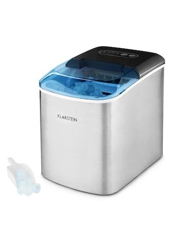 Klarstein Eismaschine Eiswürfelmaschine Eiswürfelbereiter Ice Maker 12kg kaufen