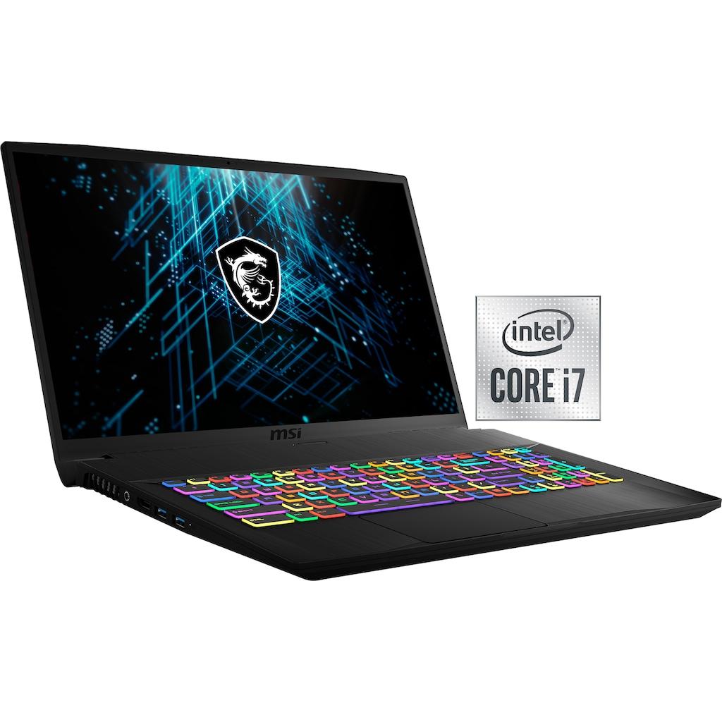 "MSI Notebook »GF75 Thin 10UEK«, (43,9 cm/17,3 "" Intel Core i7 GeForce RTX™ 3060\r\n 1000 GB SSD), Kostenloses Upgrade auf Windows 11, sobald verfügbar"