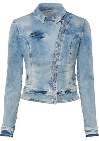 LTB Jeansblazer »ELLEN«, mit schräg verlaufendem Reißverschluss kaufen