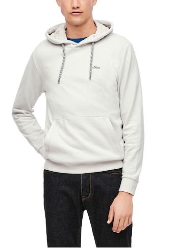 s.Oliver Kapuzensweatshirt, mit Kängurutasche kaufen