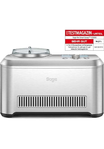 Sage Eismaschine the Smart Scoop, SCI600BSS2EEU1, 1 Liter, 170 Watt kaufen