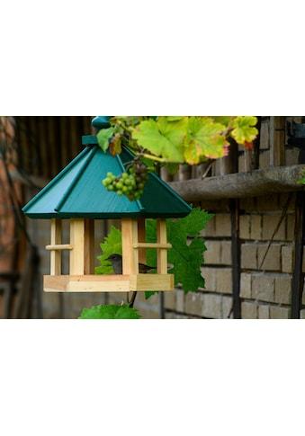 dobar green label Vogelhaus »Klassisch 6-eck«, BxTxH: 29x32x36 cm, Kiefer kaufen